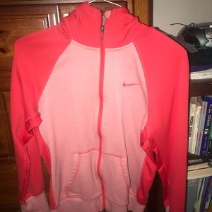 Nike therma-fit zip up jacket